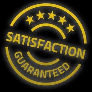 💯 satisfaction guaranteed